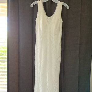 David's Bridal Mermaid-Style Wedding Dress